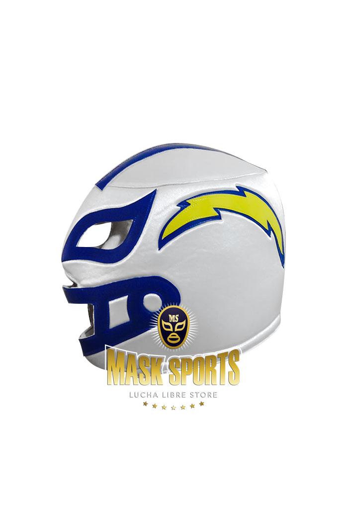 La Chargers White Fan Adult Mask Mask Sports