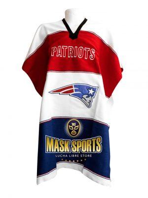 NFL New England Patriots Sweatshirt Hoodie Poncho 85caf0026