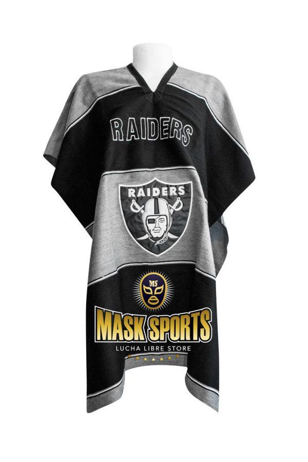 9ed02f98 NFL Oakland Raiders Sweatshirt Hoodie Poncho