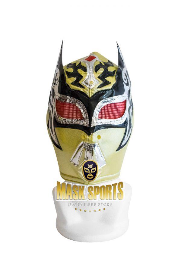 Mysteziz lucha libre wrestling mask gold black and silver