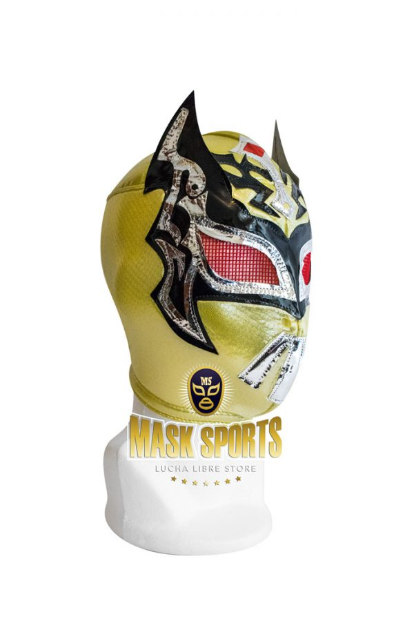 Mysteziz lucha libre wrestling mask gold black and silver