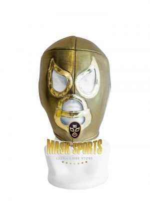 El Santo wrestling mask Gold