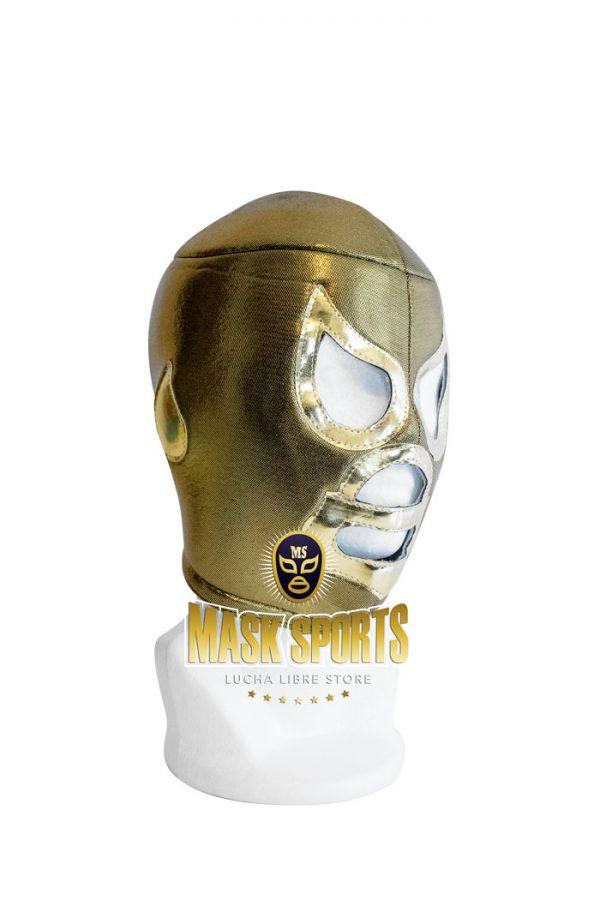 El Santo wrestling mask Gold