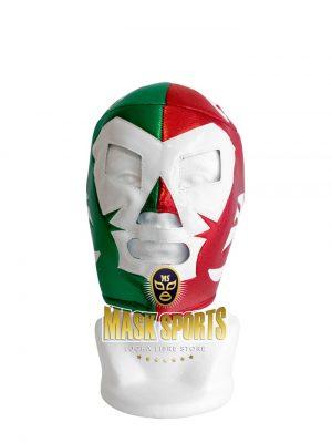 Dr. Wagner wrestling mask tricolor