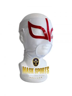 Sexy Lady adult lucha libre wrestling mask White & Red
