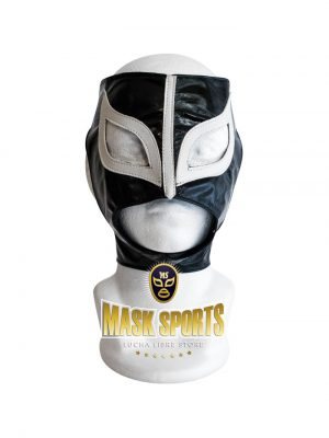 Sexy Lady adult lucha libre wrestling mask Black & White synthetic leather