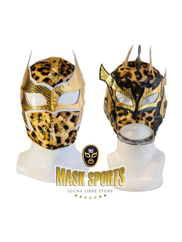 Combo-Sin-Cara-Kalisto-Leopard-kid-mask