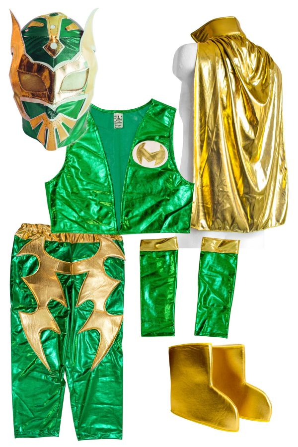 Sin-Cara-Kid-Costume-GREEN