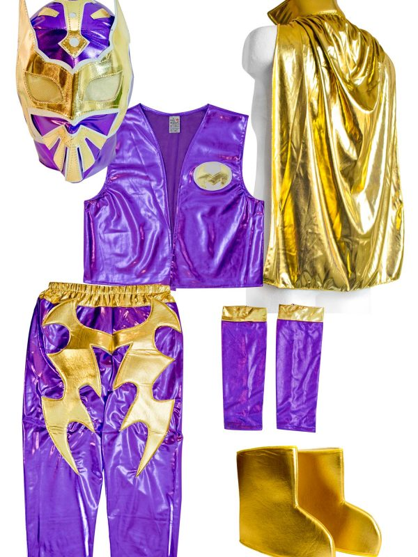 Sin-Cara-Kid-Costume-PURPLE  sc 1 st  Mask Sports : sin cara costumes for kids  - Germanpascual.Com