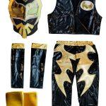 Sin Cara black Kid Costume – Lycra pants mask and vest