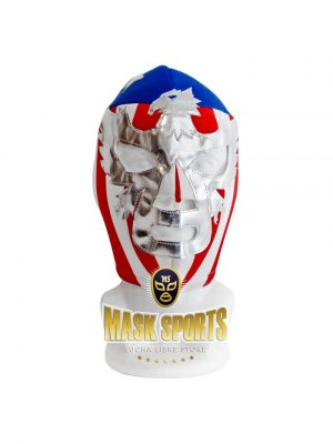 PATRIOT AMERICA wrestling foam lining mask vertical stripes