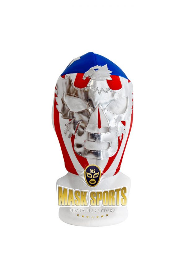 PATRIOT AMERICA wrestling foam lining mask vertical stripes