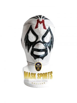 MIL MASCARAS wrestling foam lining mask silver and black