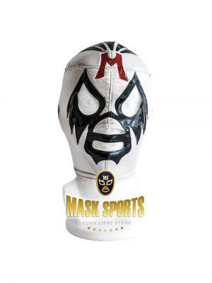 MIL MASCARAS wrestling foam lining mask silver and black