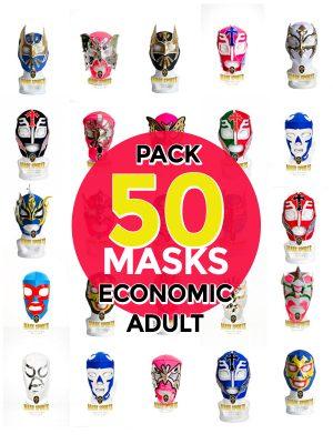 Wholesale Economic Adult pack of 200 lucha libre masks