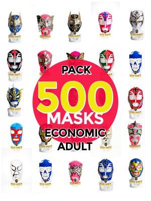 Wholesale Economic Adult pack of 500 lucha libre masks
