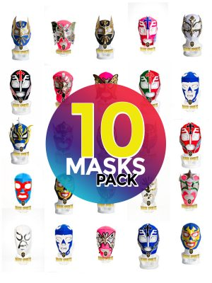 Wholesale Economic Kids pack of 10 lucha libre masks