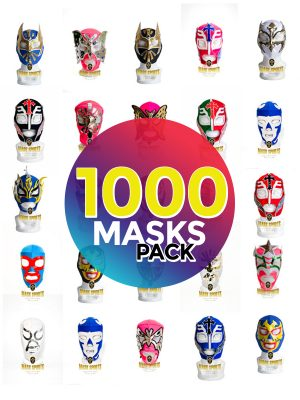 Wholesale Economic Kids pack of 1000 lucha libre masks