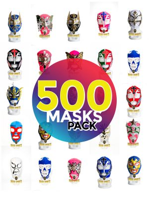 Wholesale Economic Kids pack of 500 lucha libre masks