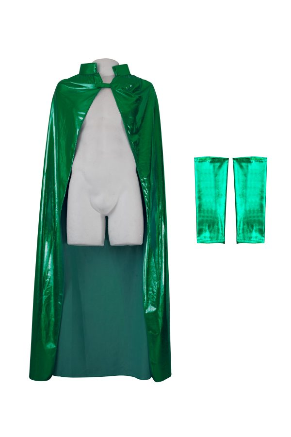 wrestling-adult-cape-green-color