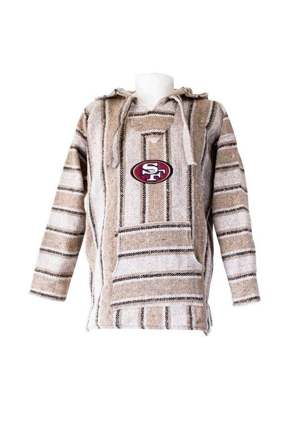 cheaper b455f aff1b SAN FRANCISCO 49ERS hoodie pullover sweater