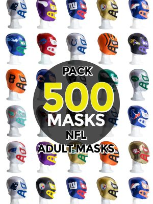 Wholesale NFL Assorted Teams pack of 500 lucha libre foam adult masks