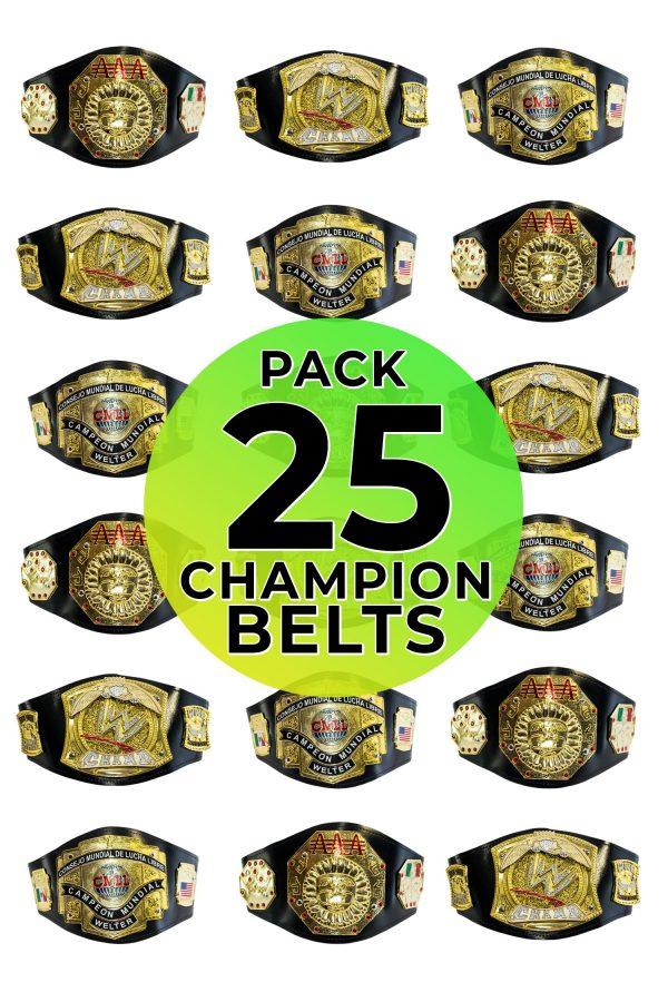 Championship belts 25