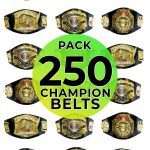 Championship belts 250