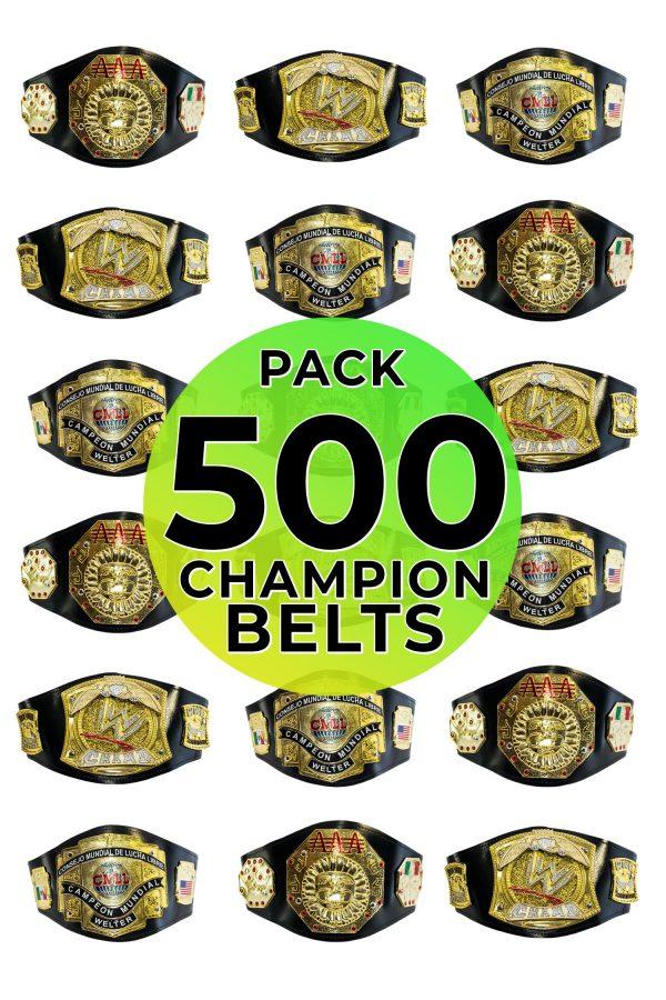 Championship belts 500